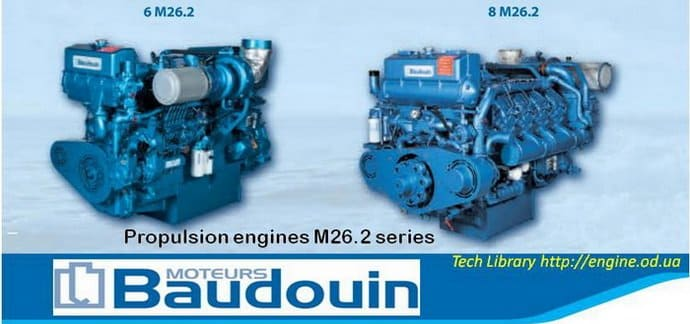 Baudouin marine propulsion engine Catalogue