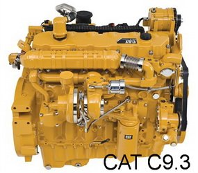 Caterpillar C9.3 diesel engine