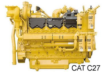 Caterpillar C27 diesel engine