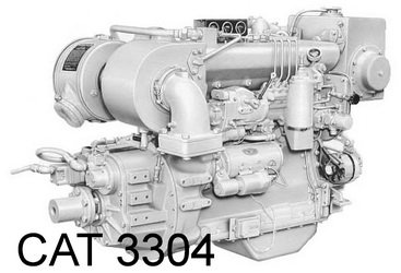 Caterpillar 3300 Series engine Manual & Parts Catalog