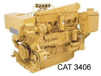 Caterpillar 3400 Series engine Manual & Parts Catalog on