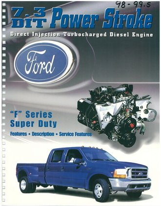 Ford 7.3L DIT F Series Super Duty Engine