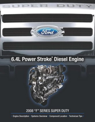 Ford 6.4L 2008 F Series Super Duty Engine