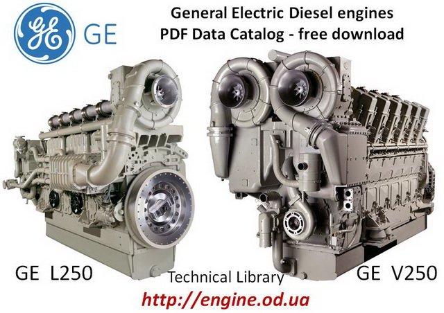 GE L250 & V250 Diesel Engines Catalog