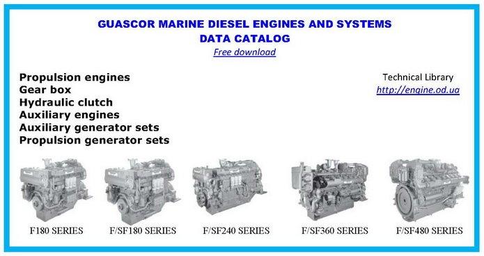 Guascor diesel engine