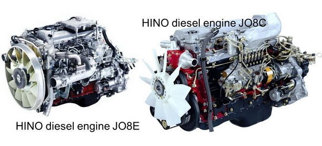 HINO engine Manuals & Parts Catalogs