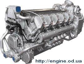 Isotta V 1712 C2 MLH marine propulsion engine