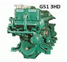 Kelvin G51 3HD engine