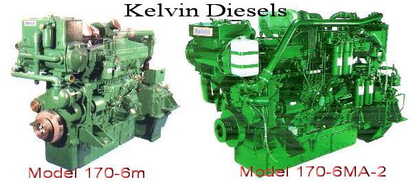 Kelvin diesels