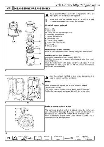 Lombardini diesel engine