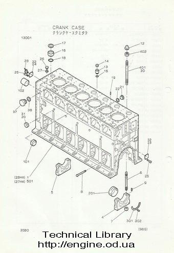 Nigata diesel engine