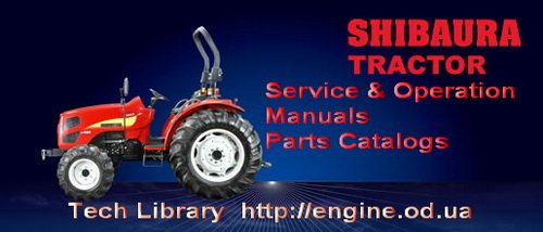 SHIBAURA engine Manuals & Parts Catalogs