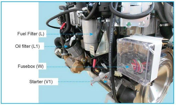 VM Motori Marine Z4.170