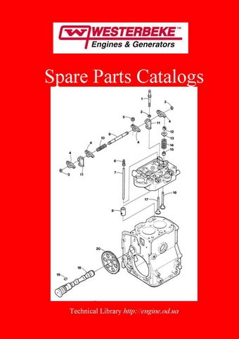 Westerbeke engine manuals parts catalogs westerbeke spare parts catalogs westerbeke service westerbeke wiring diagrams asfbconference2016 Choice Image