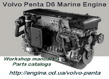 VOLVO PENTA engine Manuals & Parts Catalogs