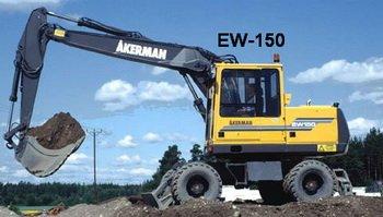 AKERMAN (VOLVO) excavator Manuals & Parts Catalogs