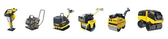 Bomag light equipment