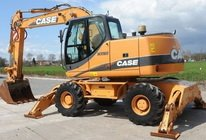 CASE Wheel Excavator WX165