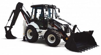 HIDROMECK backhoe loader HMK 102B