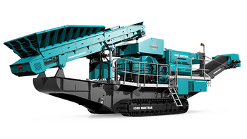 Powerscreen 1300 maxtrack cover