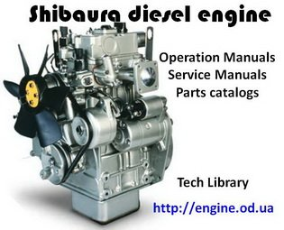 SHIBAURA Tractor Service manuals and Spare parts Catalogs on