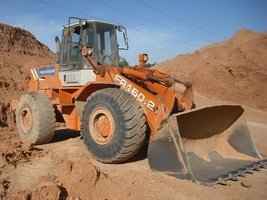 Fiat Hitachi wheel loader FR160-2