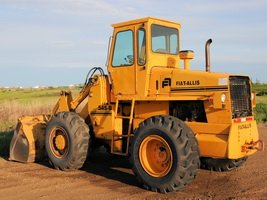 Fiat Allis wheel loader 545B