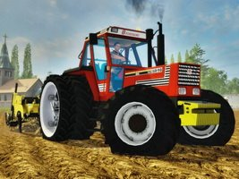 Fiat Agri 160-90 DT tractor
