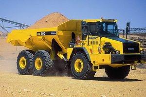 Komatsu HM400 articulated dump truck