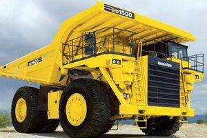 Komatsu HD1500 Rigid dump truck