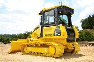 Komatsu D37PX bulldozer