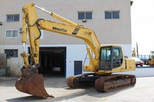 KOMATSU Excavator PC200-PC270 Service manuals and Spare parts Catalogs