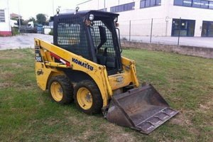 Skid steer loader, Shovel loader