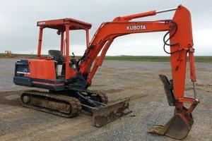 Kubota KX101 Mini Excavator
