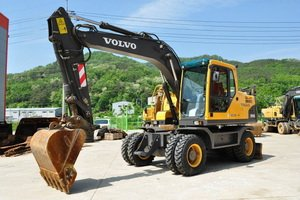 Volvo Wheel Excavator EW145BP
