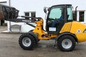 Volvo Compact Wheel Loader L25B