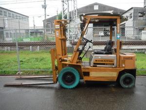 KOMATSU Diesel forklift FD20-FD33 Service manuals and Spare