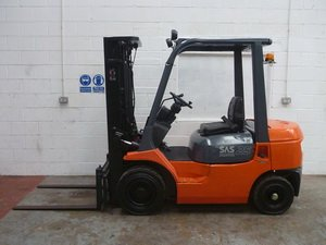 TOYOTA Forklift Service manuals and Spare parts Catalogs